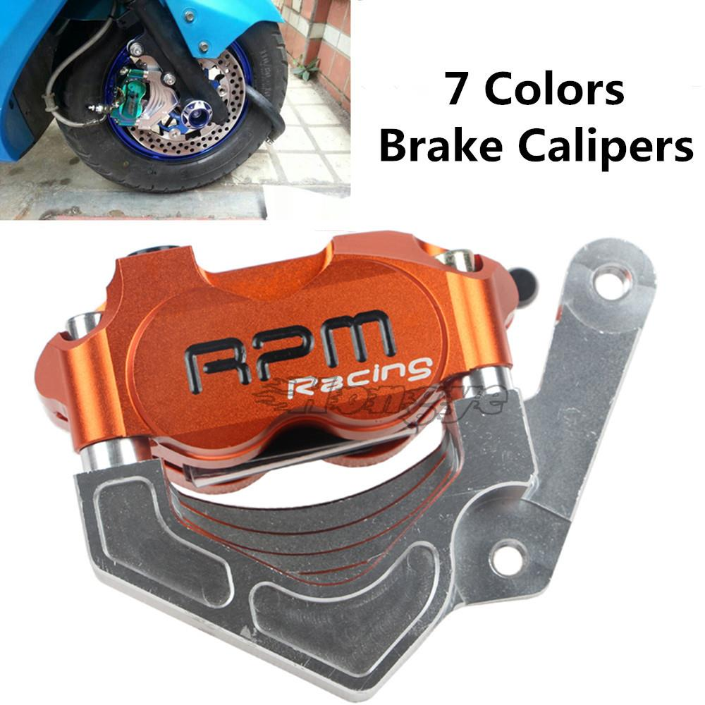 ФОТО RPMMOTOR CNC Motorcycle Brake Pump Brake Calipers Motorcycle Brake Disks Universal For 220 Discs