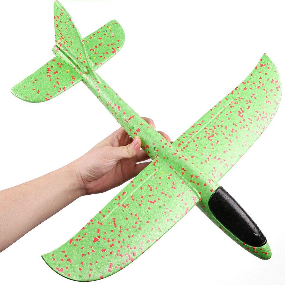 Enfants jouets main jeter avion volant mousse avion modèle volant planeur avion jouets pour enfants en plein air jeu avion jouets