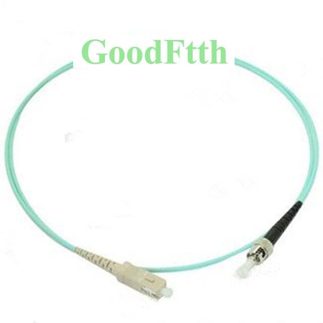 Fiber Optic Patch Cords Jumpers SC ST ST SC OM3 Simplex GoodFtth 1 15m