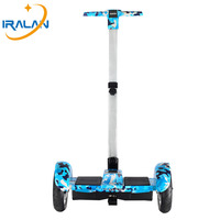 Hoverboard 10 Inch 2 Wheels Self Balancing Electric Scooter Samsung Battery Bluetooth With Handle Standing Balance