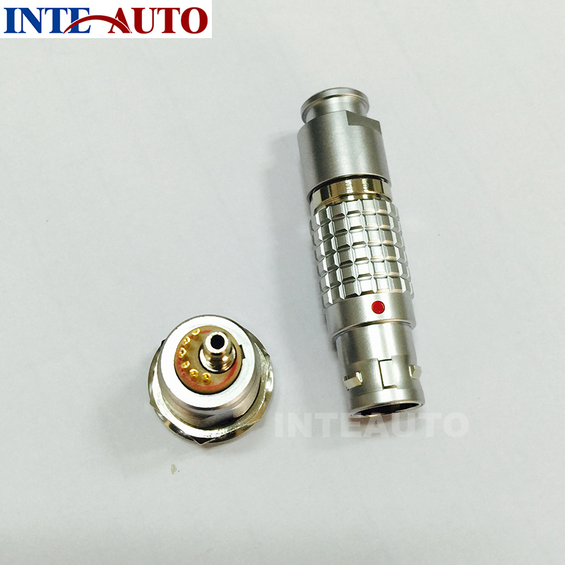 LEMO M18 3B 6 pins circular connector,metal gas connector, push pull plug and receptacle,used for cosmetic instrument 2b 16 pins lemo straight plug with obd cable circular connector fgg 2b 316