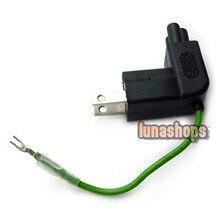 LN002202 Universal 90 Degree AC Plug for Apple iBook MacBook Pr laptop Power With Grounding Adapter