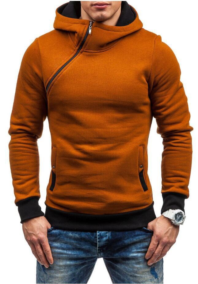 HEYKESON Brand 2017 Hoodie Oblique Zipper Solid Color Hoodies Men Fashion Tracksuit Male Sweatshirt Hoody Mens Purpose Tour XXL HEYKESON Brand 2017 Hoodies, with an chest Zipper HTB1nr VSFXXXXazXpXXq6xXFXXXQ
