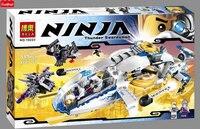 Bela 10223 Ninja Copter Building Blocks Brick for Children Toys Set Boy Game Team Castle Compatible with Legoes Lepine 70724