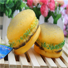 New pet toys Puppy dog chew toy Stuffed squeaking toys dog plush Hamburger of small dog toy,brinquedos para pet