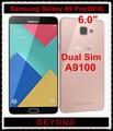 "Samsung galaxy a9 pro 2016 duos original desbloqueado 4g lte dual Sim A9100 Teléfono Móvil Octa Core RAM 4 GB ROM 32 GB 6.0 ""16MP"