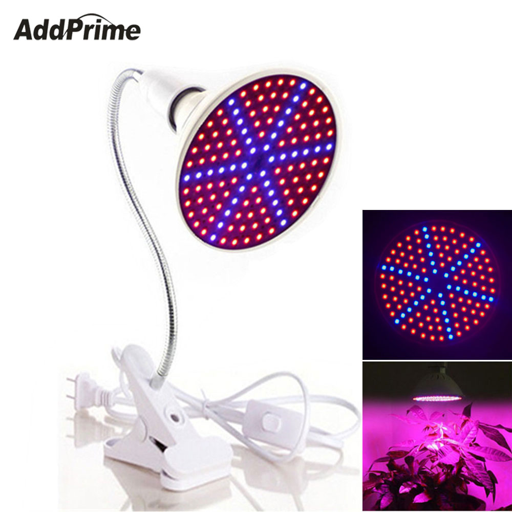 126/200/260 LED Grow Lights Plant Growing Lamp Bulb Flexible Lamp Holder Clip for Indoor Plants Flower Vegetable Greenhouse