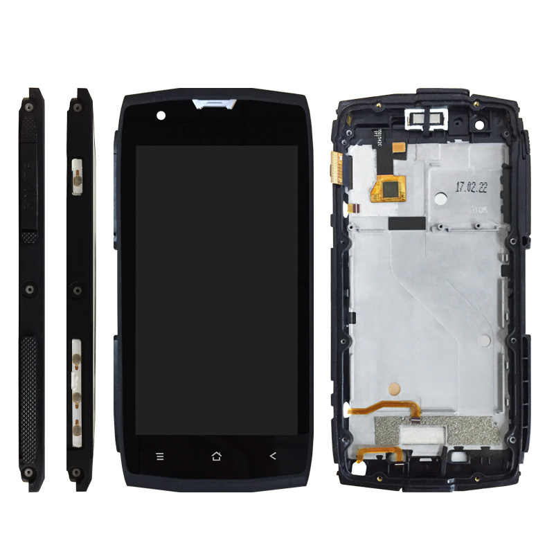 WEICHENG Android 7,0 para Blackview BV7000 pantalla LCD + montaje de pantalla táctil con marco 100% nuevo para bv7000 pro lcd + herramientas