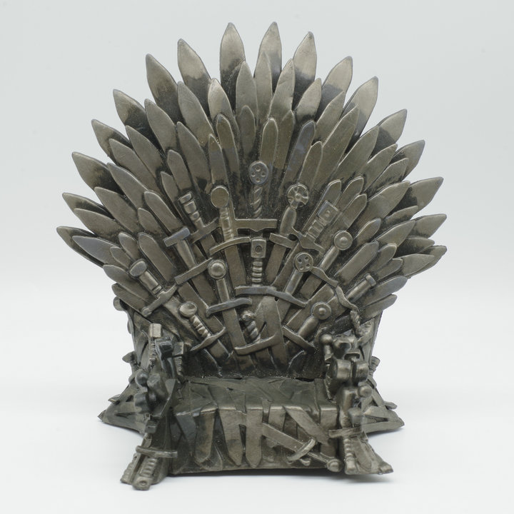 Exclusive Secondhand Imperfect Funko pop 6'' Game of Thrones - Iron Throne Vinyl Action Figure Collectible Model Loose Toy imperfect funko pop second hand horror movies evil dead 2 ash with saw vinyl action figure collectible model toy cheap no box