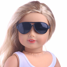 Elliptical Frame Fashion Glasses Fit For American Girl Doll 18 inch American Girl Accessories doll accessories heart shaped round glasses suit for blythe doll glasses for american girl dolls sunglasses