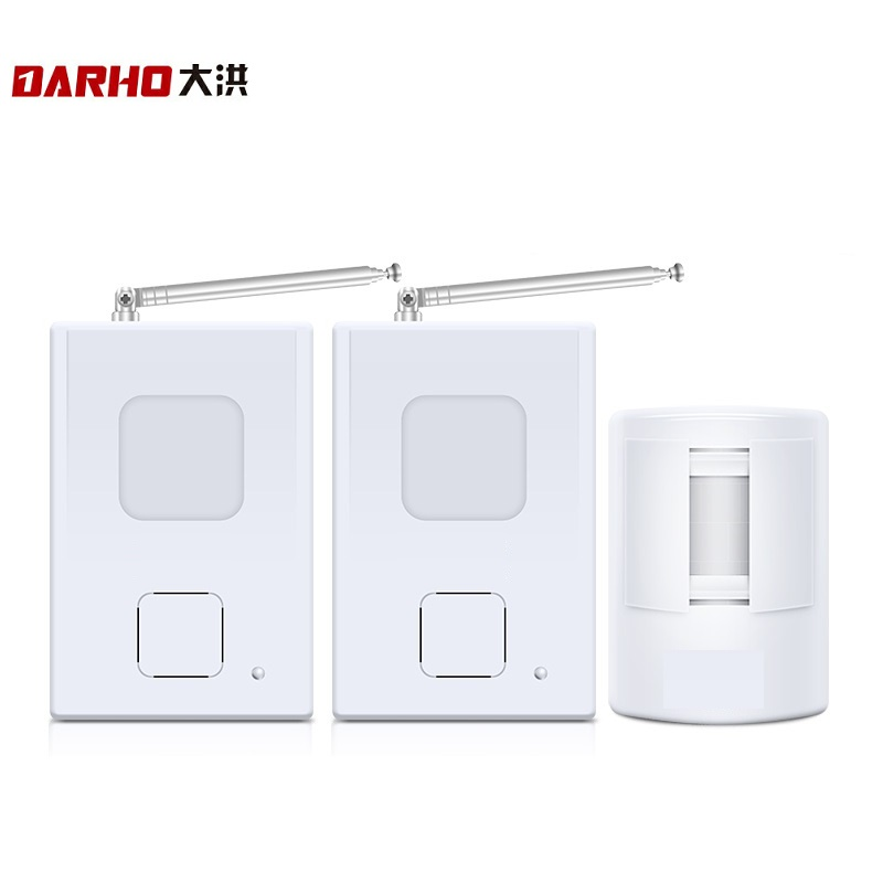 Darho Superior Wireless Doorbells PIR Infrared Movement Entry Door Bell Welcome Alarm Chime Motion Sensor Detector System 300M ks v2 welcom chime bell sensor