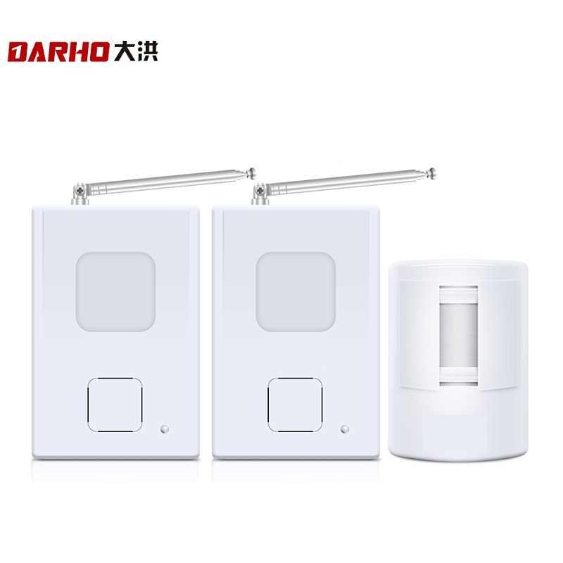Timbre inalámbrico Darho Superior PIR, timbre de puerta de entrada con Sensor de movimiento infrarrojo, timbre de bienvenida con alarma, sistema de detección de movimiento 300M