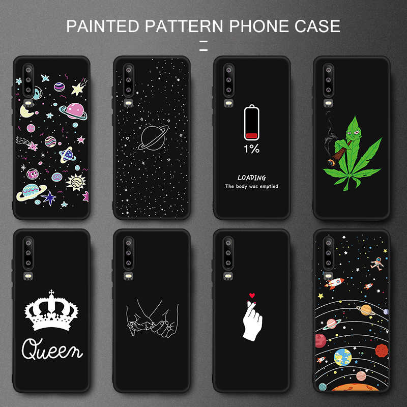 For Honor 10 Lite Cool Space Painted Phone Case Cover For Huawei Honor 8X Max 9 8 Lite 8C 6C Pro V20 V9 Play Note 10 TPU Cover