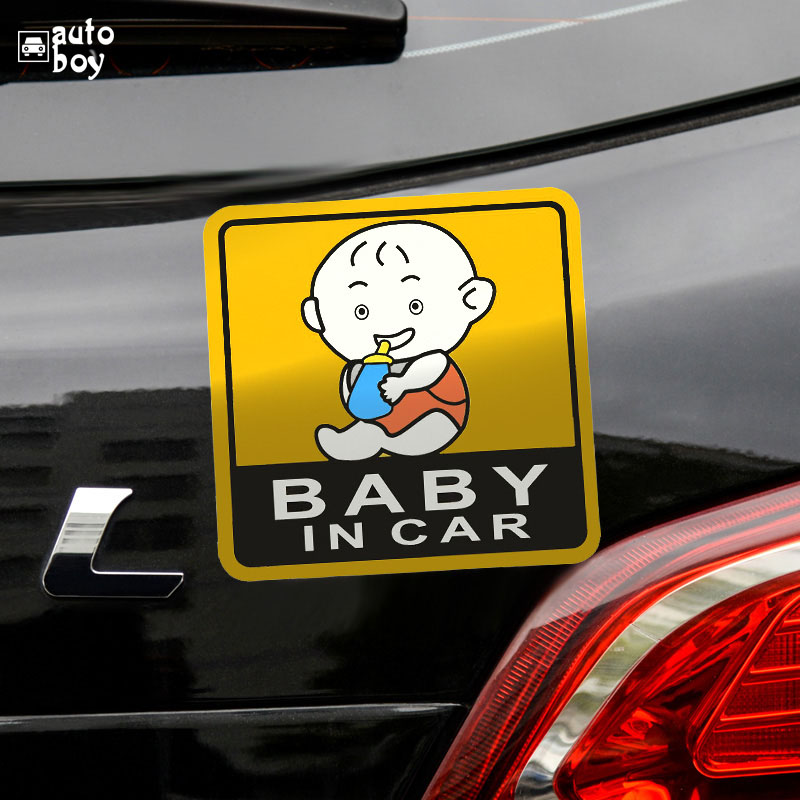 Image 3 - Car Sticker For Audi a3 For Cars For Volkswagen Car Accessories Car Stickers And Decals BMW Accessories Baby In The Sign-in Car Stickers from Automobiles & Motorcycles