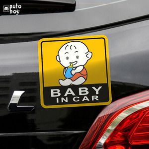 Image 3 - Car Sticker For Audi a3 For Cars For Volkswagen Car Accessories Car Stickers And Decals BMW Accessories Baby In The Sign