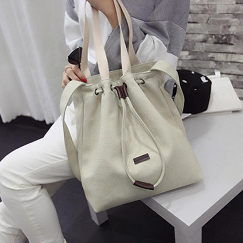 Women's Canvas Handbag Messenger Top-Handle Bags Shoulder Bag