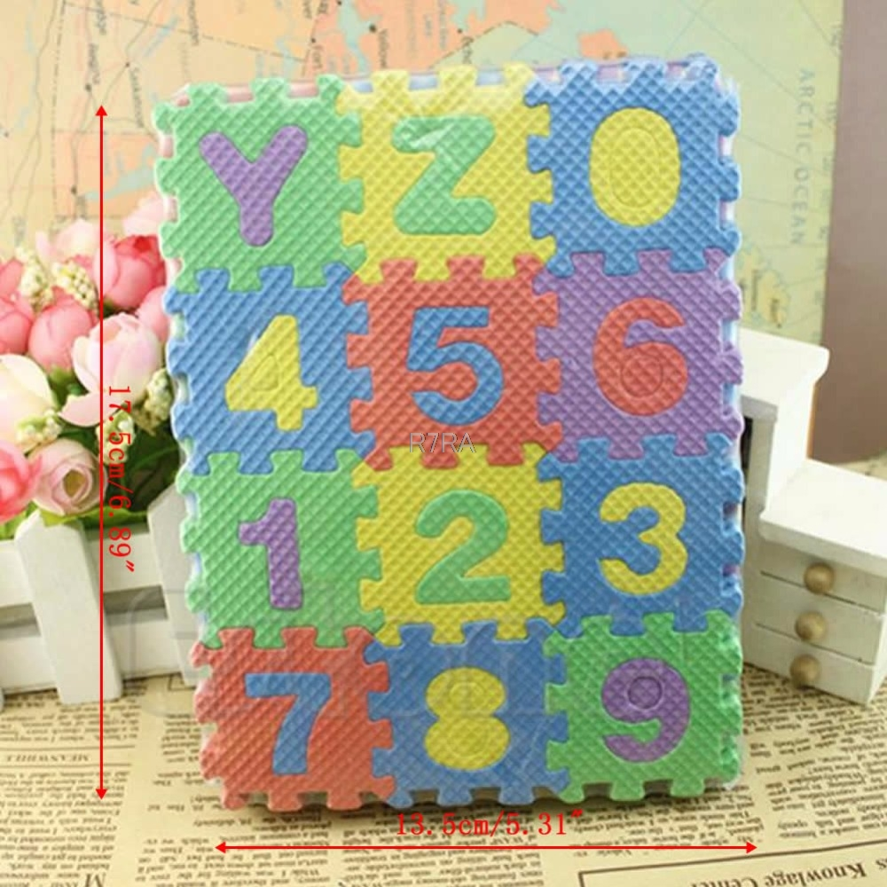 36pcs Small Size Puzzle Baby Educational Toy Alphabet Letters Numeral Foam Mat