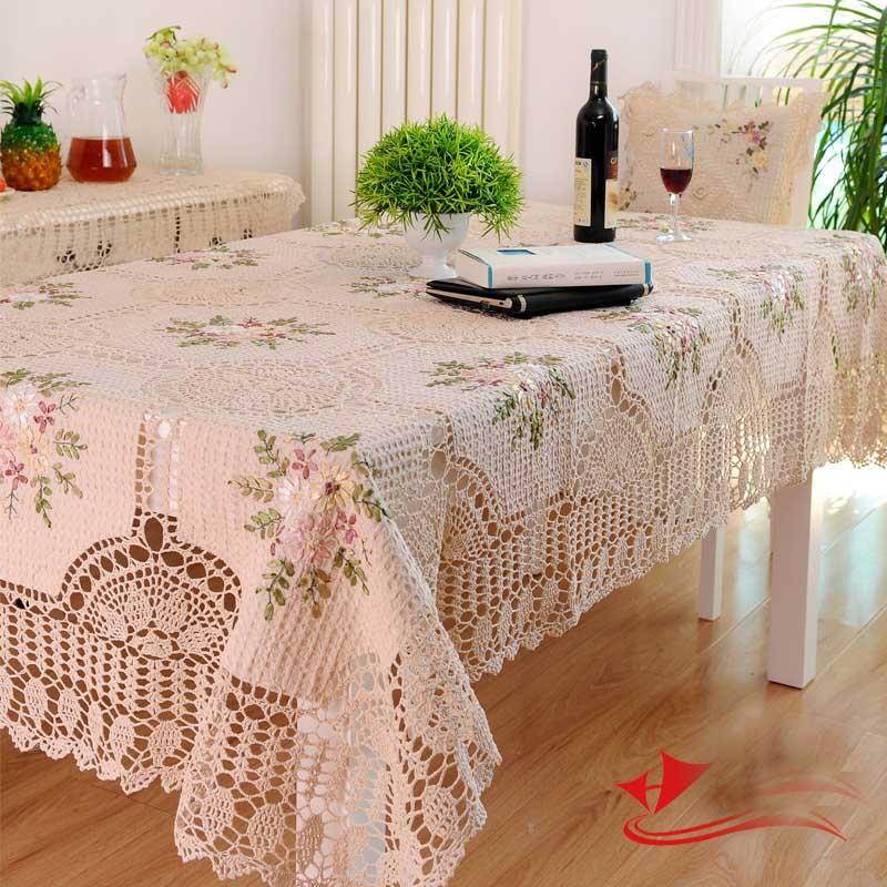 Buy kingart hand beige cotton handmade - Set de table crochet ...