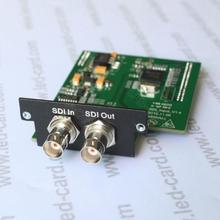 Модуль VDWALL SDI используется для видеопроцессора lvp605 lvp615 SDI вход live camara play