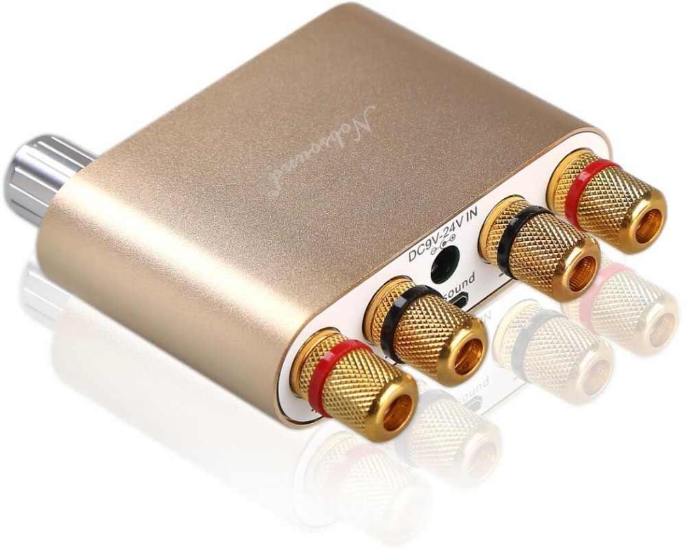 2018 последние Nobsound NS-10G TPA3116 Bluetooth 4,0 Мини цифровой усилитель стерео HiFi Мощность Amp 50 Вт * 2 Бесплатная доставка