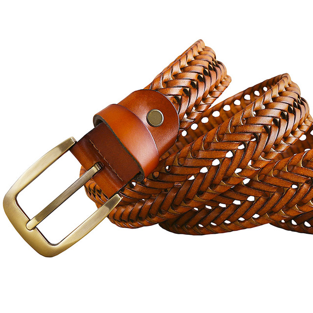 Plated Leather Belt 8