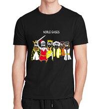 2016 streetwear Noble Gases King T Shirts Science Chemistry fashion streetwear funny brand Men's t-shirt mma Tee pp M-3XL