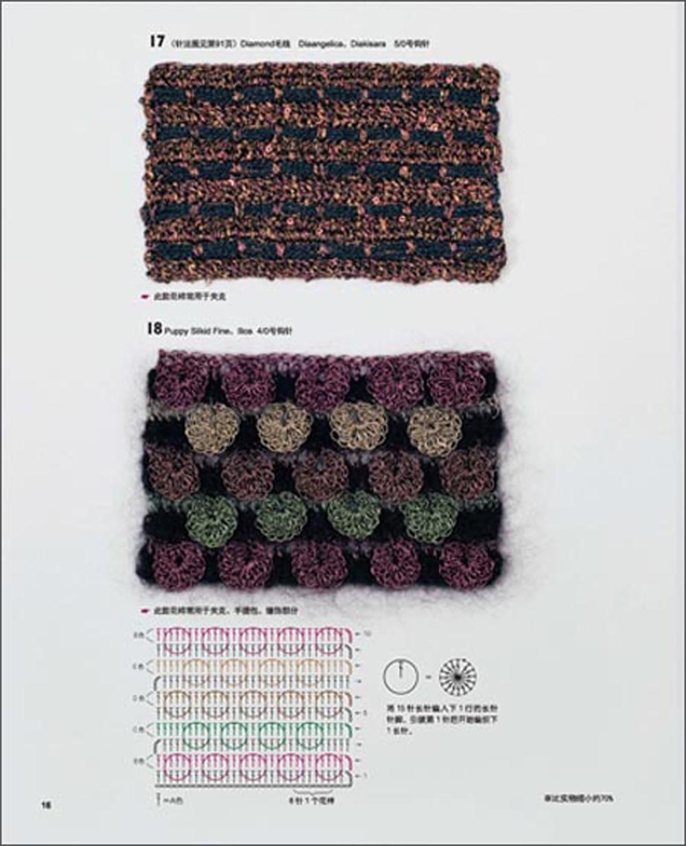 Japanese Knitting Patterns Book in Chinese Creative Needle knitting ...