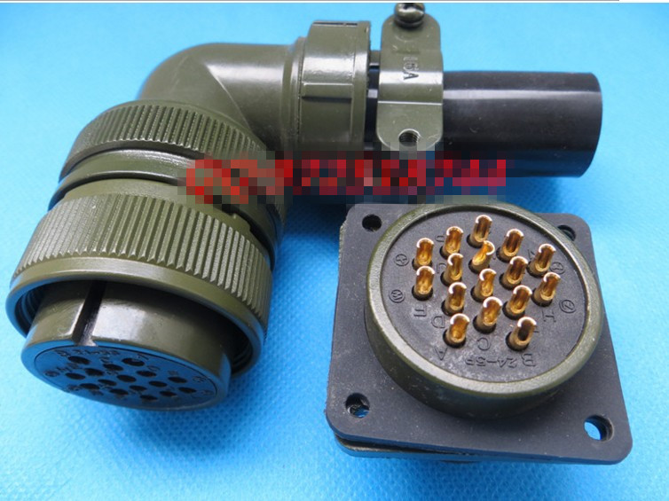 Original new 100% 5015 MS3108A24-5S MS3102A24-5P 16 American Standard aviationplug bent core waterproof connectorOriginal new 100% 5015 MS3108A24-5S MS3102A24-5P 16 American Standard aviationplug bent core waterproof connector