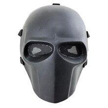 Army of Two маска из стекловолокна страйкбол Пейнтбол шлем(черный