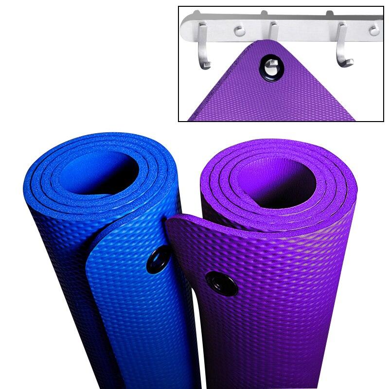 Appeso Esercizio di Yoga Zerbino NBR Ampliato 80 cm di Spessore 10mm Non-slip Sport Zerbino per il Gruppo di Lezioni di Fitness allenamento Zerbino s