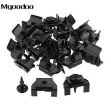 цены 20Pcs Retaining Fastener Front Bumper Retaining Clip Fender Retainer Black Fasteners For Toyota 53879-28010 538790R010