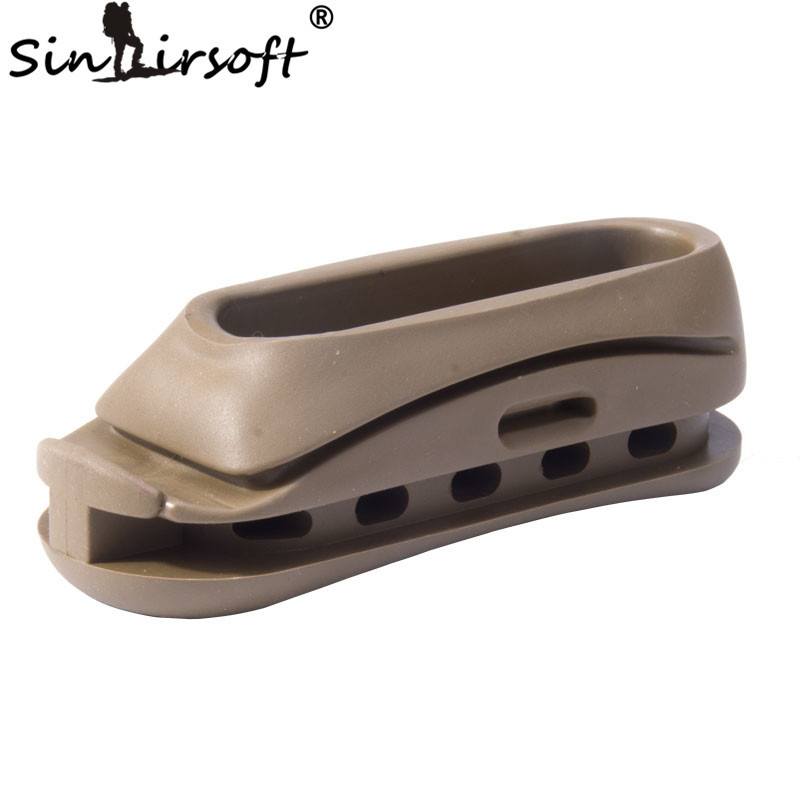 Цена за SINAIRSOFT Airsoft Спорт Элемент OT0401 AK47 Приклад Резиновый Затыльник Охотничьи Принадлежности Черный Темный Земля