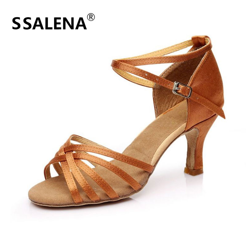 Women Medium Distance Latin Dance Shoes Girls Professional Salsa Tango Rumba Sneakers Party Ballroom Dancing Shoes 7CM AA51087 free shipping brass bidet sprayer shattaf shower kit set 38 degree celsius hot and cold water thermostatic mixer valve02 114