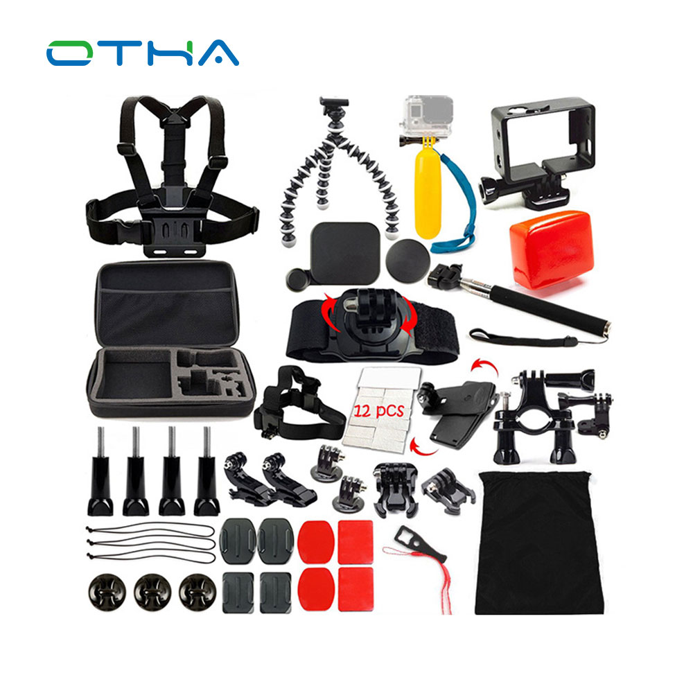 Go pro Accessories kit for gopro hero M SJ EKEN HR xiaomi