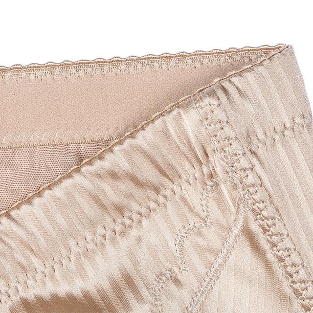 50pcs L-3XL Women High Waist Body Shaper Control Panties seamless tummy Belly Waist Trainer Slimming Panties thin Underwear
