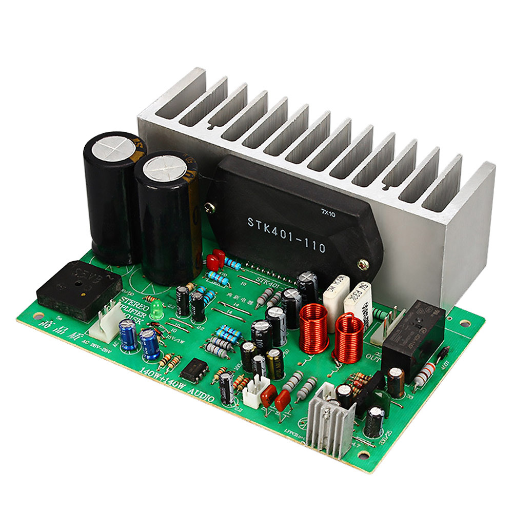 AIYIMA 2.0 Power Amplifier Audio Amplifiers Board 140W+140W Amplificador DIY For Home Theater Sound System Dual AC24 28V