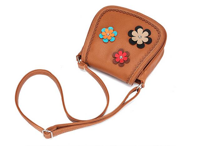 2017 women's pouch famous brand leather handbags flowers women bag for women messenger bags high quality bolsa feminina