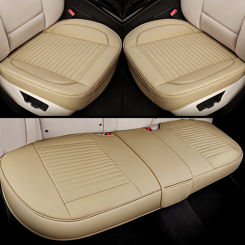 Universal leather car seat cover car styling for Lada 110 111 112 Kalina Niva Vesta XRAY