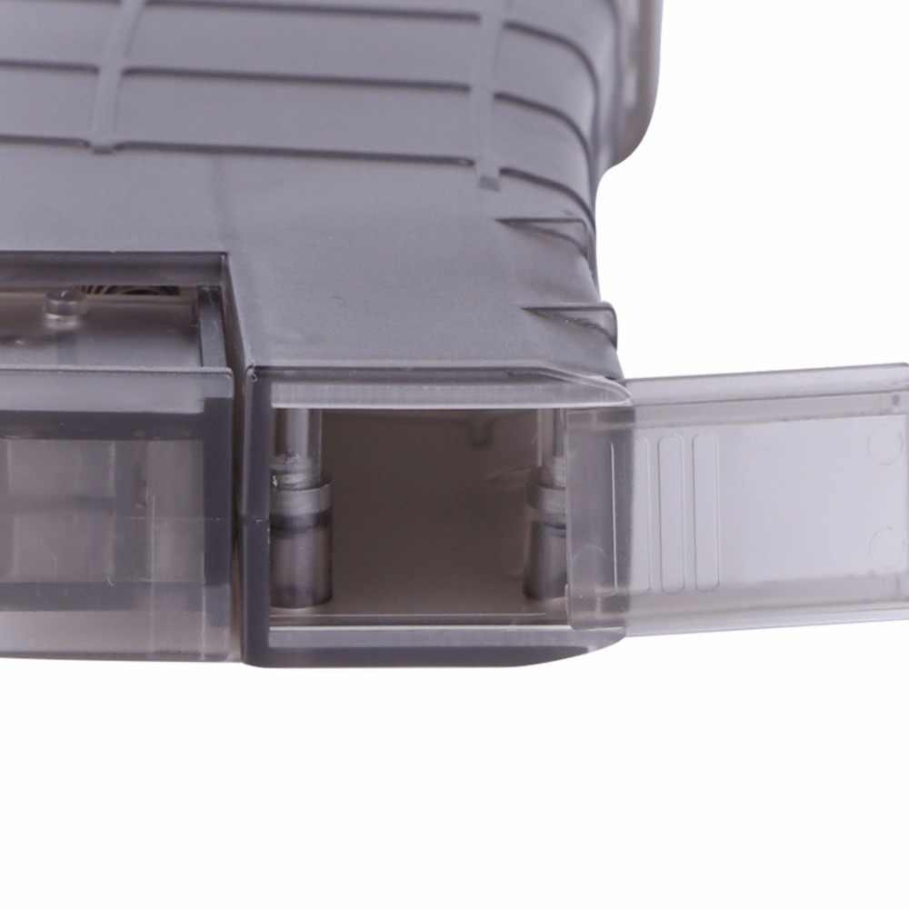 Tempur Militer 500rd Plastik Kecepatan Loader untuk Airsoft Speedloader Taktis Paintball Cepat Kecepatan Loader Permainan