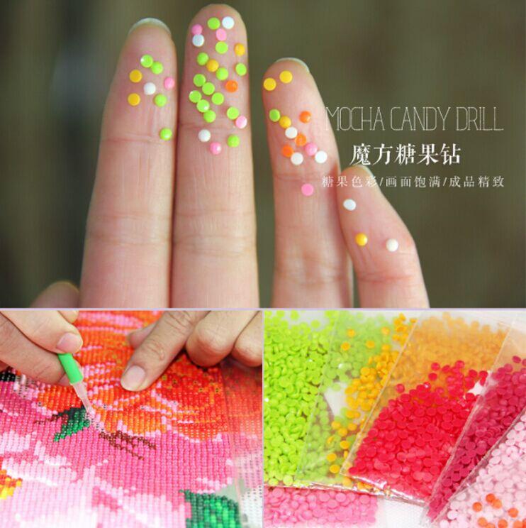 Flores de peonía Diamante redondo Diy 5D pintura diamante kits de - Artes, artesanía y costura - foto 5