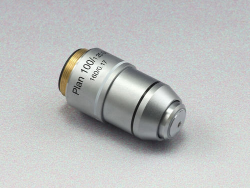 Biological Microscope 100X PLAN Objective Lens ACH 160/0.17 brand new microscope achromatic objective lens 4x 10x 40x 100x set free shipping