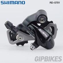 Shimano 105 5700 задний переключатель RD-5700 RD-5701 SS короткая клетка для шоссейного велосипеда 10 Скорость черный