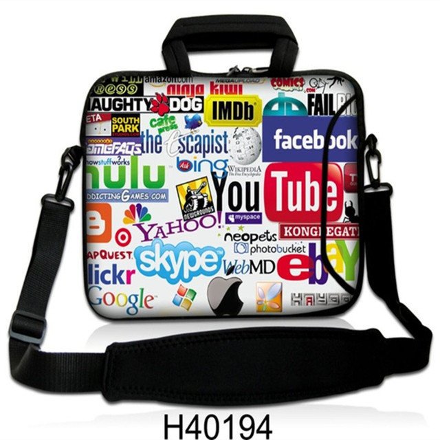 Fashion Laptop bag 10 11 12 13 14 15 15.6 17inch for ipad/macbook air/pro/lenovo shoulder bag men laptop accessories Waterproof