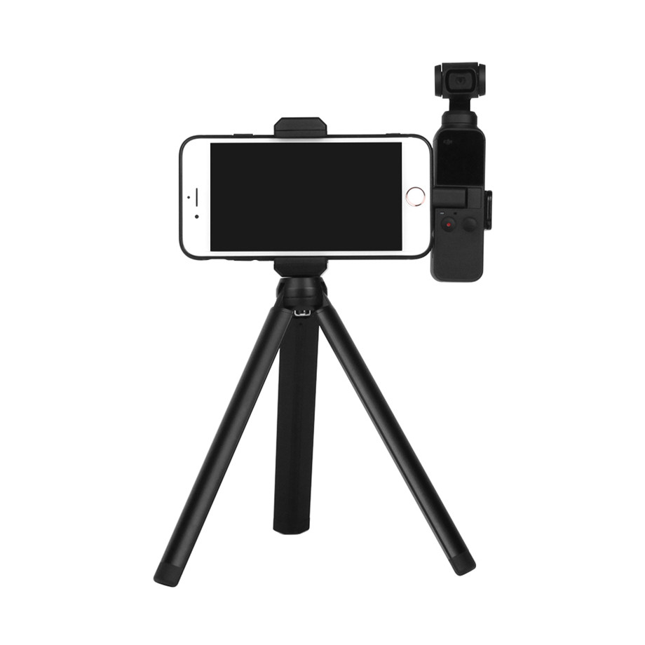 OSMO Pocket Smartphone Fixing Bracket Stand Clamp Extending Rod Tripod for DJI OSMO POCKET Gimbal Accessories 22