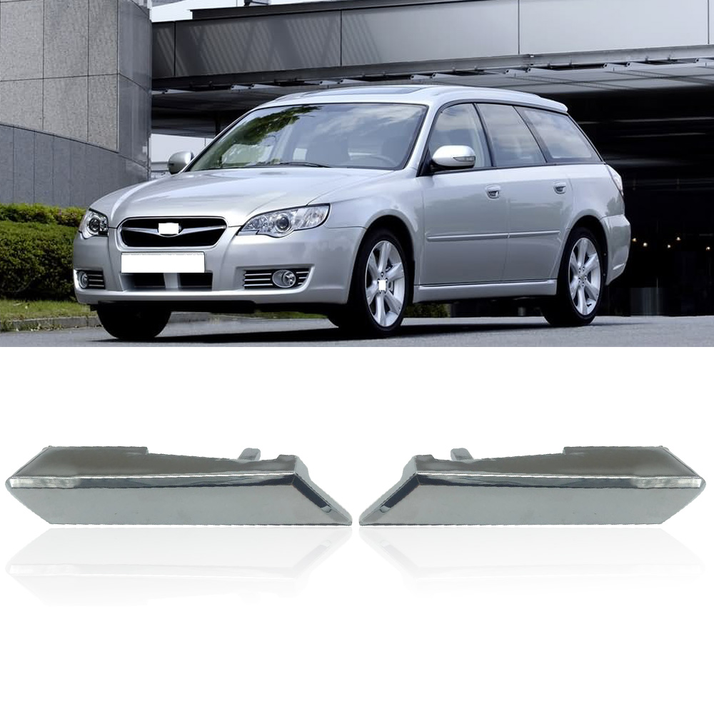 CAPQX For Subaru Legacy Outback 2003 2004 2005 2006 2007 2008 2009 Car Headlight Washer Nozzle Cover Cap 86636AG260 86636AG250