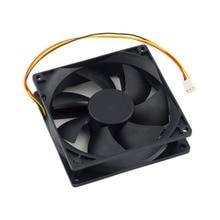 Wholesale Store 12V 3-Pin 9cm 90 x 25mm 90mm 65 CFM DC Cooling Fan CPU Heat Sinks Cooler