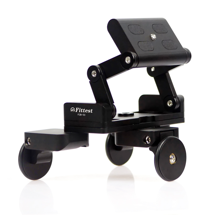 Desktop Camera Rail Car Table Dolly Car Video Slider Track For canon 60d 650D 550D nikon sony DSLR Camera Gopro Phone ye 5d2 super mute 3 wheel truck dolly slider skater for dslr camera black