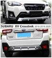 Для SUBARU XV Crosstrek 2018 2019 2020 защитная пластина переднего и заднего бампера защита от ударов Высокое качество ABS авто аксессуары