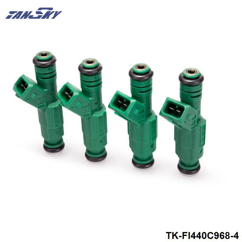 4PCS LOT High flow 440CC 0280155968 Fuel Injector For Audi A4 S4 TT 1 8L 1