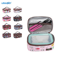 Outdoor Lunch Box With Freezable Lunch Bag Leakproof Insulated Launch Boxs Cooler Bag 2pcs Tableware For Picnic Camping LB020